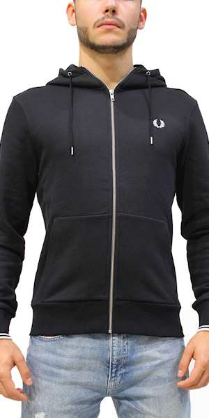 FELPA FRED PERRY HOODED ZIP