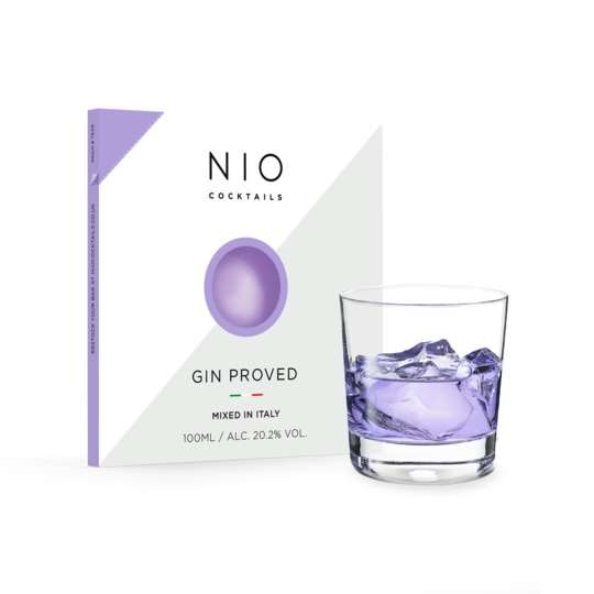 NIOCOCKTAILS GIN PROVED