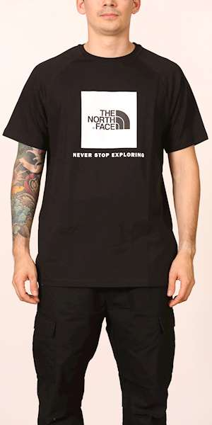 T-SHIRT THE NORTH FACE M S/S RAGLAN REDBOX TEE - EU