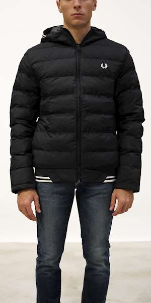 GIUBBINO FREDPERRY HOODED INSULATED JACKET