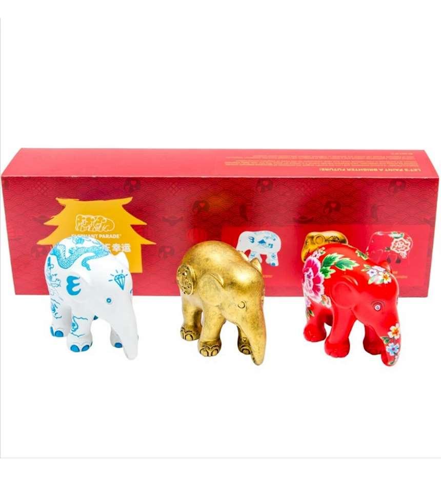 SET ELEPHANT PARADE FORTUNE