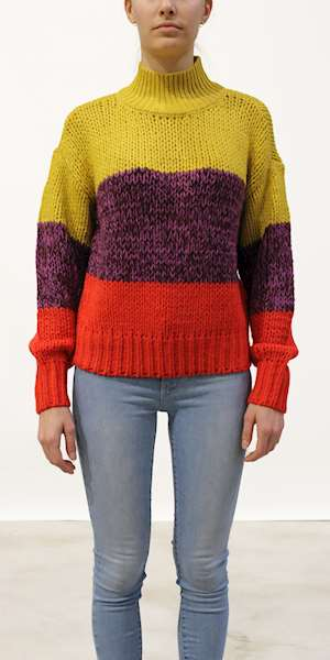 MAGLIONE SCOTCH&SODA CHUNKY KNIT WITH TURTLENECK