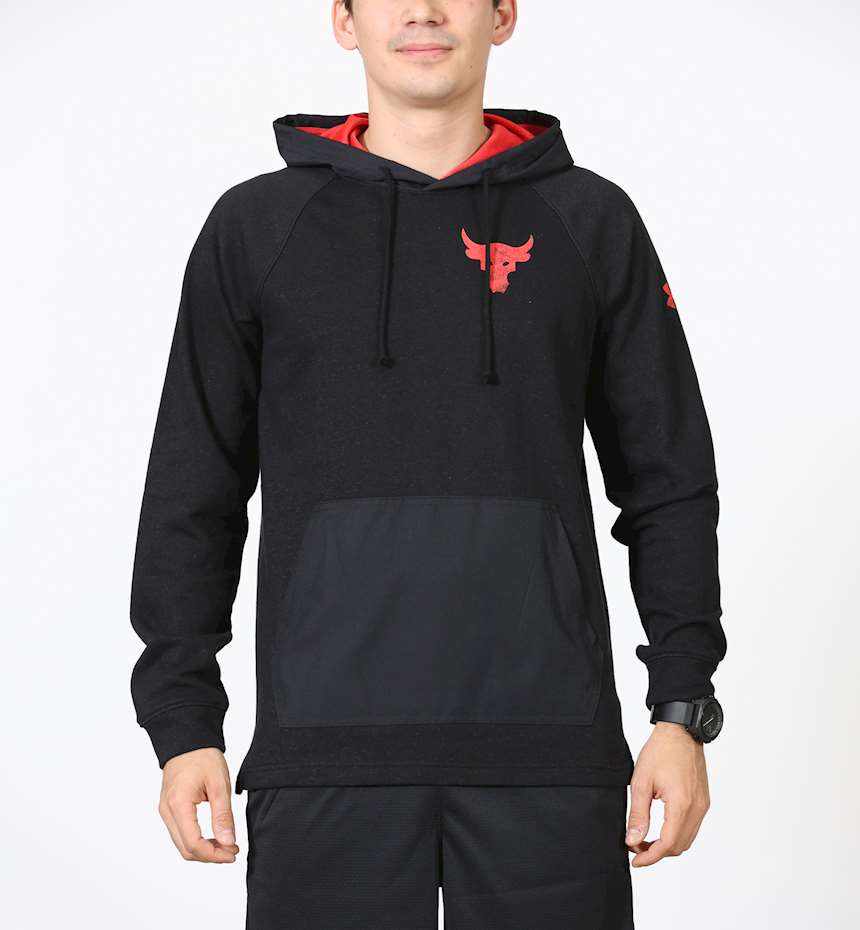 FELPA UNDER ARMOUR PROJECT ROCK TERRY HOODIE