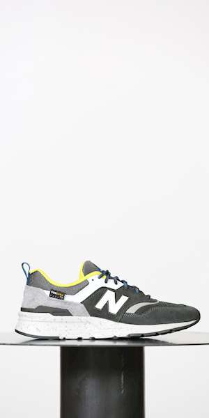 SNEAKERS NEW BALANCE SCARPA LIFESTYLE UOMO SUEDE/TEXTILE