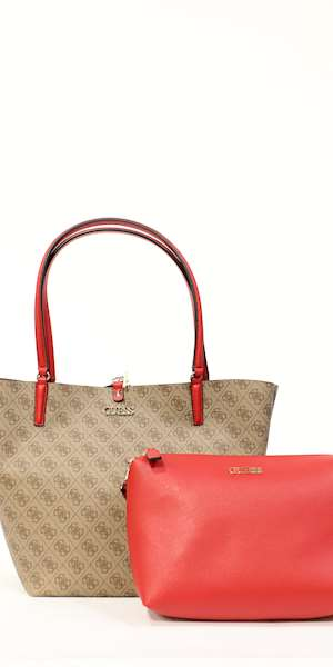 BORSA GUESS ALBY TOGGLE TOTE