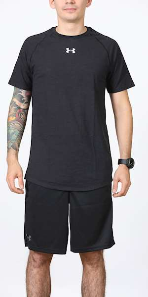 T-SHIRT UNDER ARMOUR CHARGED COTTON SS