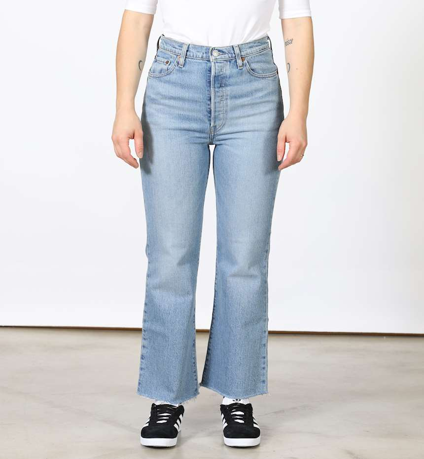 JEANS LEVIS RIBCAGE CROP FLARE