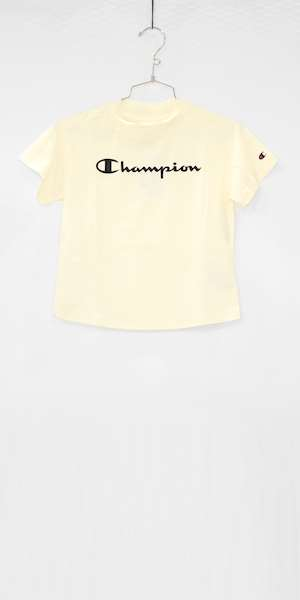 T-SHIRT CHAMPION CREWNECK CROPTOP