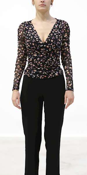 TOP GUESS FIORATO