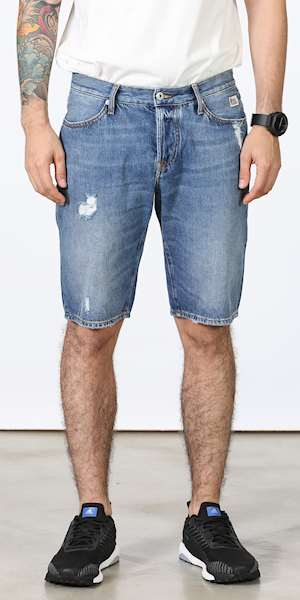 BERMUDA ROY ROGERS DANDY MAN DENIM MIAMI