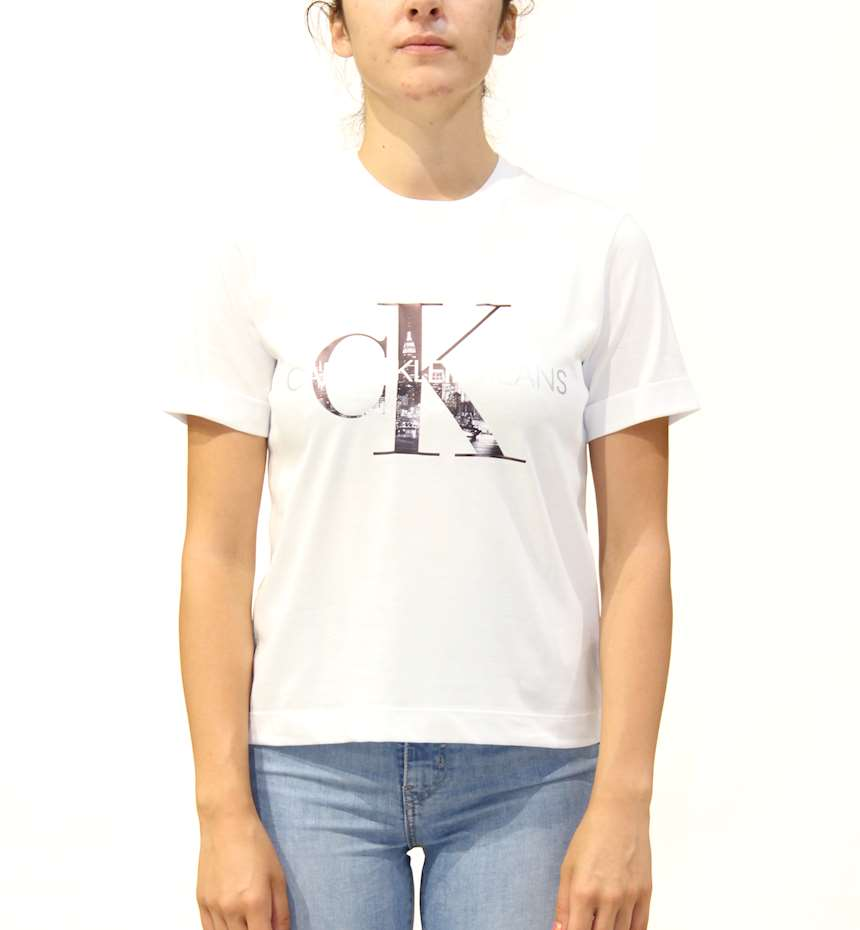 T-SHIRT CALVIN KLEIN NEW YORK PRINT