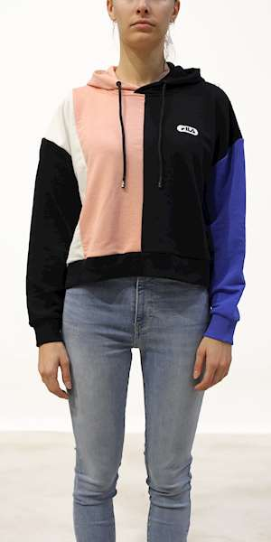FILA WOMEN BAYOU BLOCKED HOODY