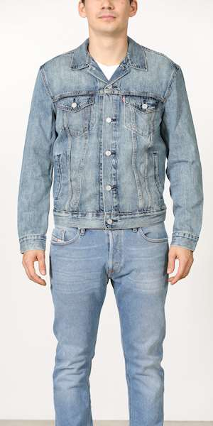 GIUBBINO LEVIS THE TRUCKER JACKET