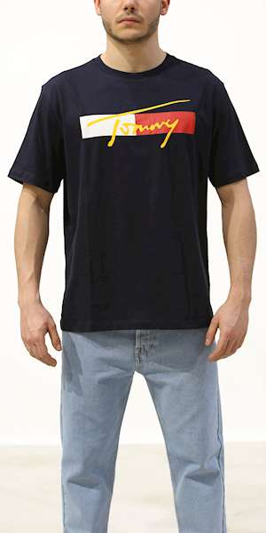 T-SHIRT TOMMY HILFIGER DROP SHOULDER