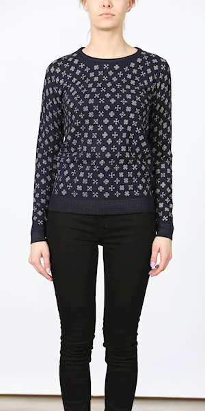 MAGLIONE SCOTCH&SODA ALLOVER PRINTED