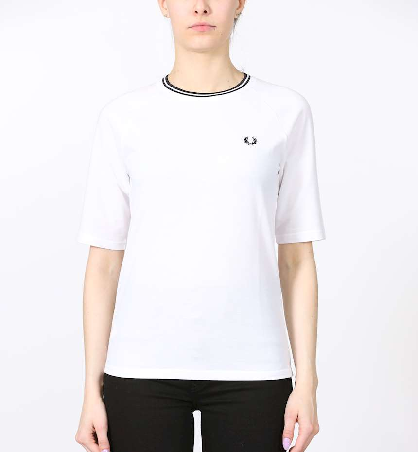 T-SHIRT FREDPERRY TWIN TIPPED PIQUE