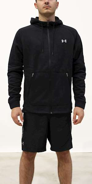 FELPA UNDER ARMOUR UA CHARGED COTTON FLEECE FZ HD