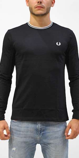 T-SHIRT FREDPERRY FP TWIN TIPPED