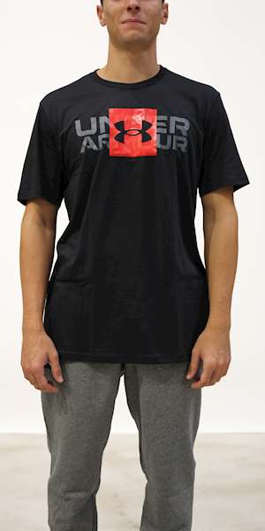 T-SHIRT UNDER ARMOUR UA BOX LOGO WORDMARK SS