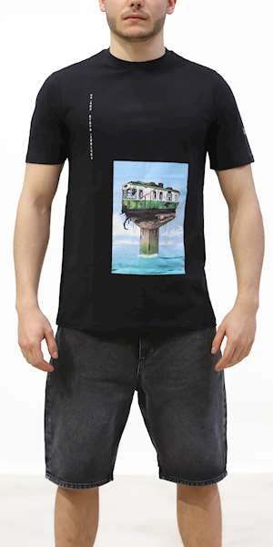T-SHIRT DOLLY NOIRE WATERWORLD