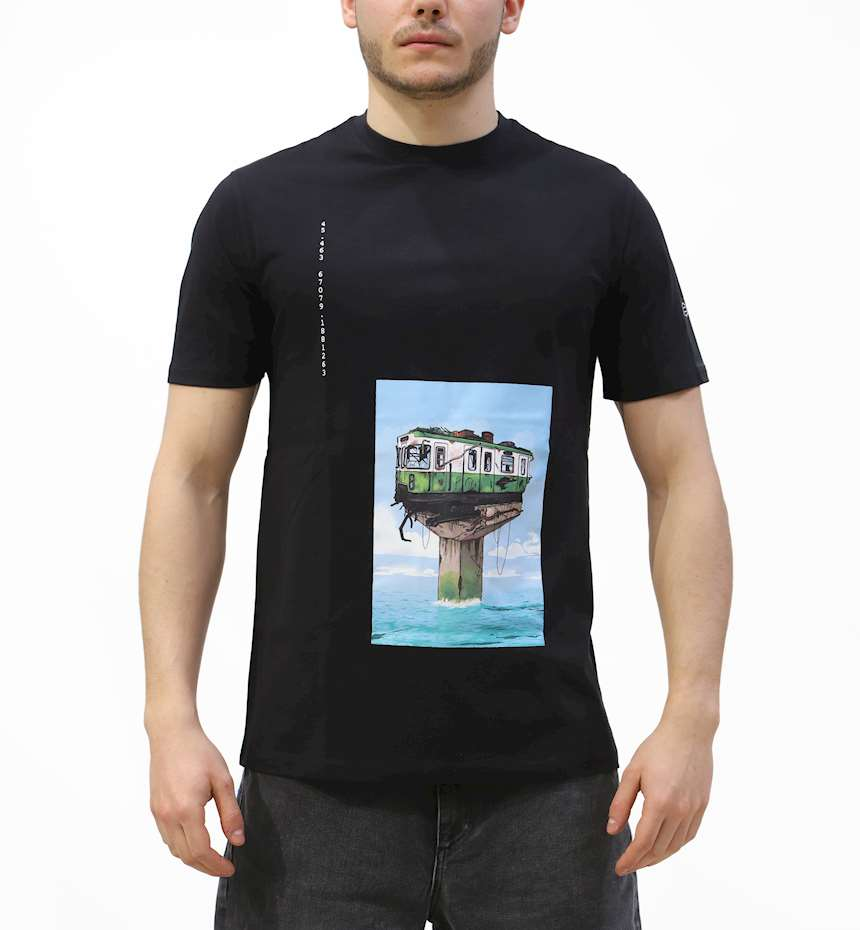 T-SHIRT DOLLY NOIRE WATERWORLD