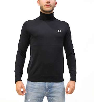 MAGLIONE FREDPERRY FP ROLL NECK JUMPER