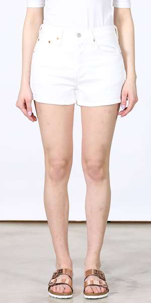 PANTALONI LEVIS 501 HIGH RISE SHORT