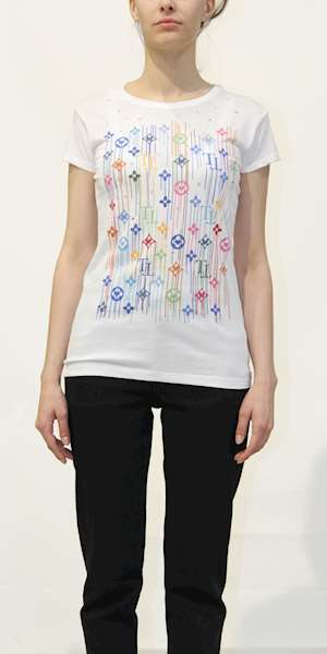 T-SHIRT TOP-TEE LOGATA COLOR