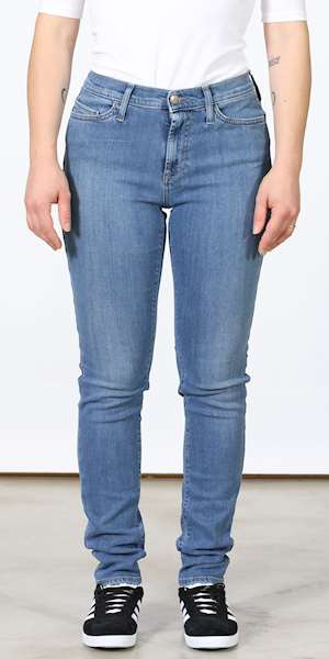 JEANS ROY ROGERS HIGH CATE DENIM SUPER STRECH