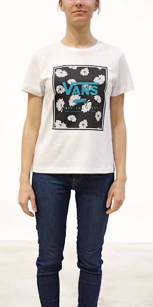 T-SHIRT VANS WM BOXED IN FLOP