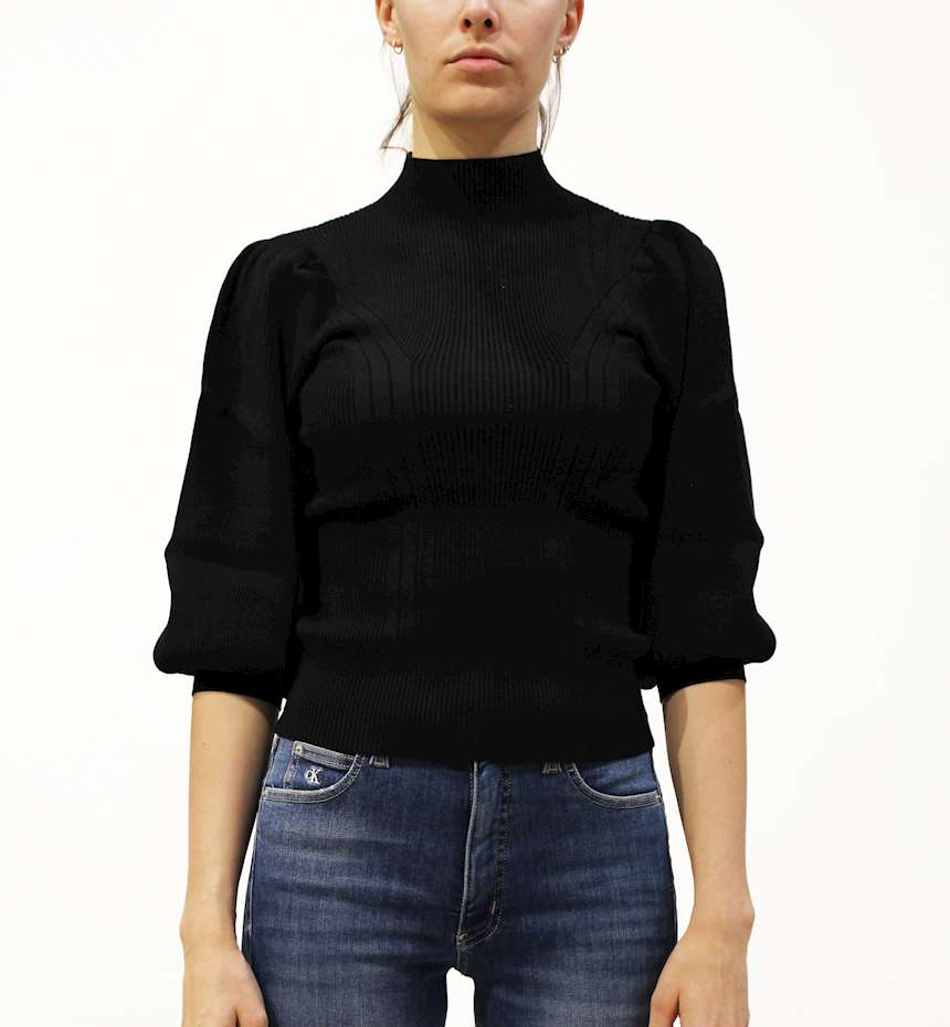 MAGLIONE GUESS BETSY TURTLE NECK SWEATER