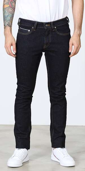 JEANS UNIFORM IBANEZ BLUE DENIM SELVEDGE SLIM FIT