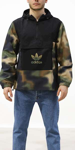 GIUBBINO ADIDAS ORIGINAL CAMO WINDBREAK